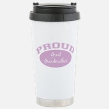 Proud Great Grandmother Travel Mug