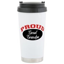 Proud Great Grandpa Travel Coffee Mug