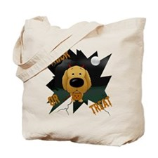 Golden Devil Halloween Tote Bag