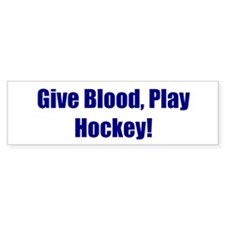 Give Blood, Play Hockey!