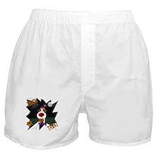 Wire Jack Clown Halloween Boxer Shorts