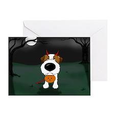 Wire Jack Devil Halloween Greeting Card