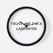 Trust Me: Carpenter Wall Clock