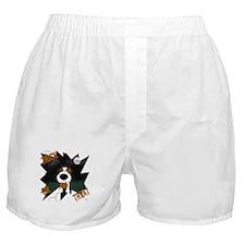 Wire Jack Devil Halloween Boxer Shorts