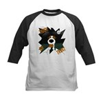 Wire Jack Devil Halloween Kids Baseball Jersey