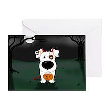 Smooth Jack Devil Halloween Greeting Card