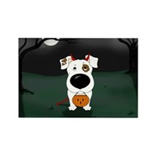 Smooth Jack Devil Halloween Rectangle Magnet