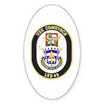USS Comstock LSD 45 US Navy Ship Oval Sticker
