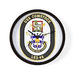 USS Comstock LSD 45 US Navy Ship Wall Clock