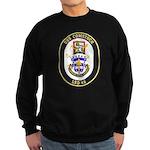 USS Comstock LSD 45 US Navy Ship Sweatshirt (dark)