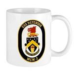 USS Defender MCM 2 US Navy Ship Mug