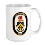 USS Defender MCM 2 US Navy Ship Large Mug