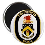 USS Defender MCM 2 US Navy Ship Magnet