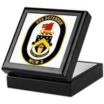 USS Defender MCM 2 US Navy Ship Keepsake Box
