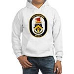 USS Defender MCM 2 US Navy Ship Hooded Sweatshirt