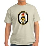 USS Defender MCM 2 US Navy Ship Light T-Shirt