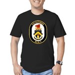 USS Defender MCM 2 US Navy Ship Men's Fitted T-Shi