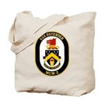 USS Defender MCM 2 US Navy Ship Tote Bag