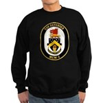 USS Defender MCM 2 US Navy Ship Sweatshirt (dark)