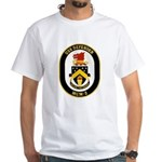 USS Defender MCM 2 US Navy Ship White T-Shirt
