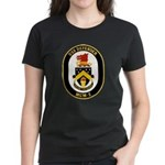 USS Defender MCM 2 US Navy Ship Women's Dark T-Shi