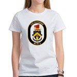USS Defender MCM 2 US Navy Ship Women's T-Shirt