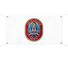 USS Gladiator MCM 11 US Navy Ship Banner