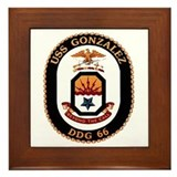 Uss gonzalez Framed Tiles