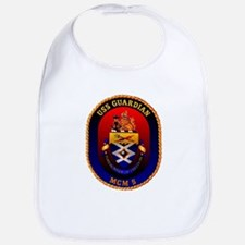 USS Guardian MCM 5 US Navy Ship Bib