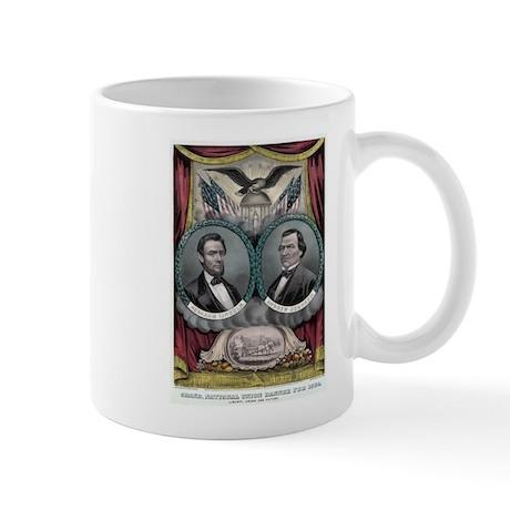 Abraham Lincoln 1864 Campaign Poster #1 Mug