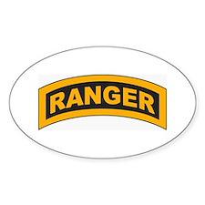 Ranger Tab Oval Decal