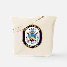USS Howard DDG 83 US Navy Ship Tote Bag
