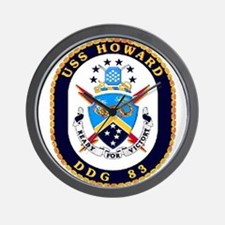 USS Howard DDG 83 US Navy Ship Wall Clock
