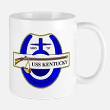 USS Kentucky SSBN 737 US Navy Ship Mug