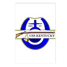 USS Kentucky SSBN 737 US Navy Ship Postcards (Pack