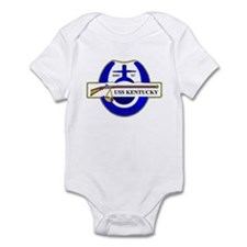 USS Kentucky SSBN 737 US Navy Ship Infant Bodysuit