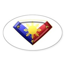 Super Pinoy Oval Decal