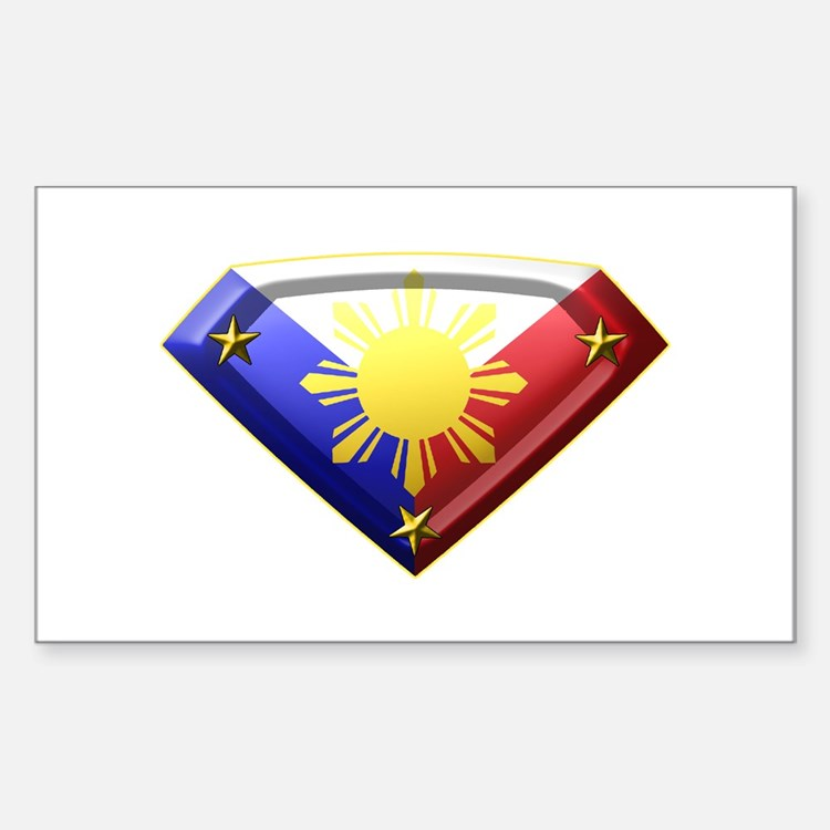 Super Pinoy Rectangle Decal