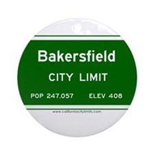 Bakersfield Ornament (Round)