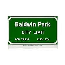 Baldwin Park Rectangle Magnet