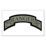2nd ranger bn Bumper Stickers