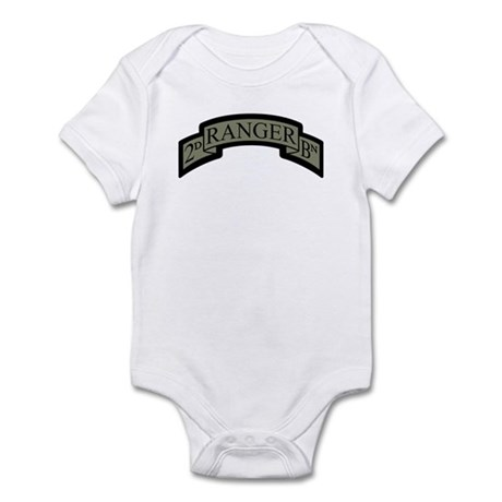 2D Ranger BN Scroll ACU Infant Bodysuit