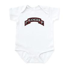 1st Ranger BN Scroll Infant Bodysuit