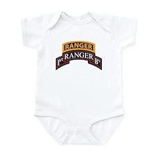 1st Ranger BN Scroll with Ran Infant Bodysuit