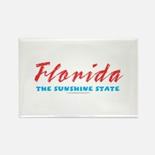 Florida - Sunshine state Rectangle Magnet