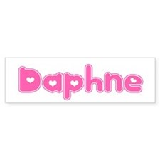 """""""Daphne"""" Bumper Bumper Sticker"""