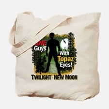 I Love Guys With Topaz Eyes Tote Bag
