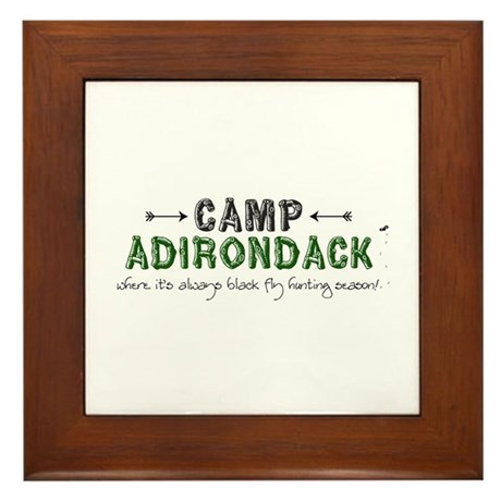 Camp Adirondack Framed Tile