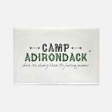 Camp Adirondack Rectangle Magnet (10 pack)