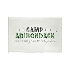 Camp Adirondack Rectangle Magnet